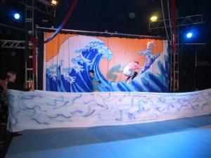 Bühnenbild Surfcup